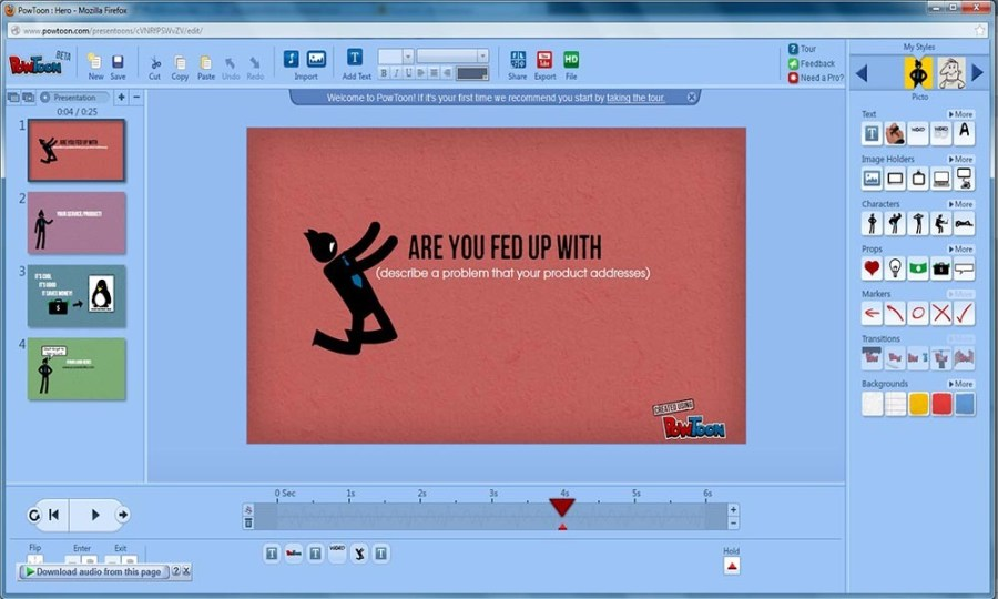 How to Create Animated Presentations Online