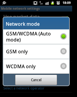 How to Choose 3G Only on Your Android Phones