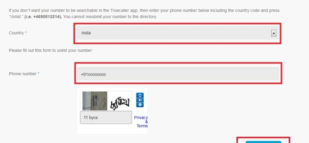 How to Remove Your Mobile Number from truecaller - 1