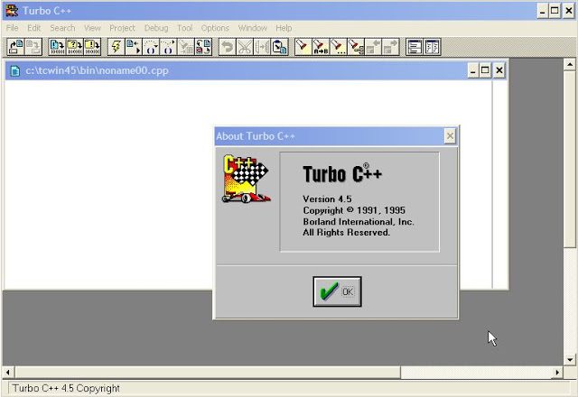Turbo C++ For Windows 8 and Windows 7 - Improved GUI