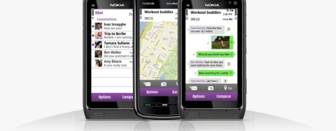 Viber for Nokia Asha Smartphones – Instant Chat and Messaging App