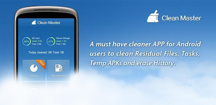 Internal Storage Getting Low Automatically - Clean Master App