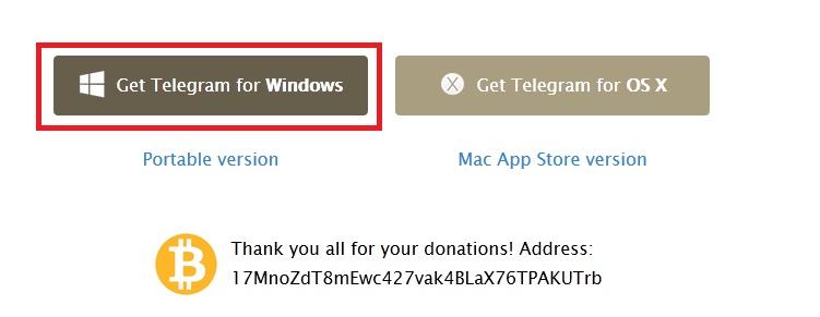 Telegram for PC Free download