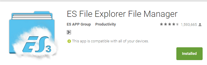 How to Extract APK Files in Android - ES File Explorer