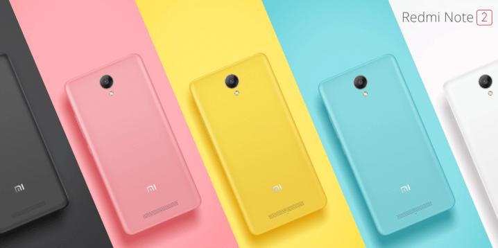 Xiaomi Redmi Note vs Redmi Note 2