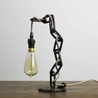 Kingdom Industrial Style Desk Table Lamp Light made using