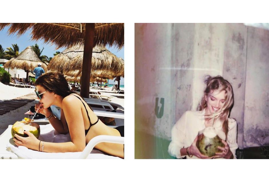 From left: Sofia Richie @sofiarichie; Lily Donaldson @lilydonaldson.