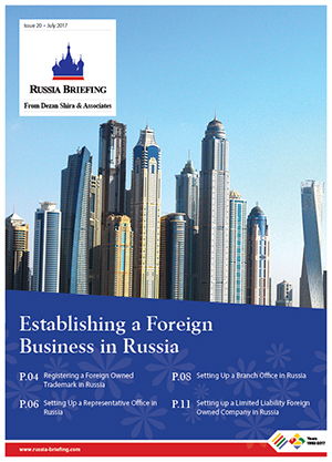 Establishing a Foreign Company in Russia
