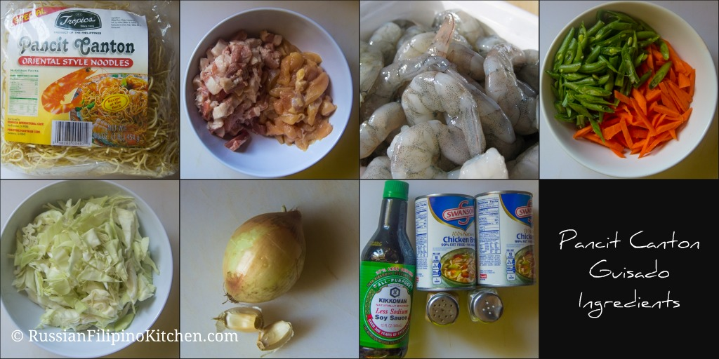 pancit ingredients