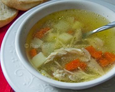 Light Chicken Soup 01