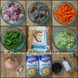 pancit bihon ingredients