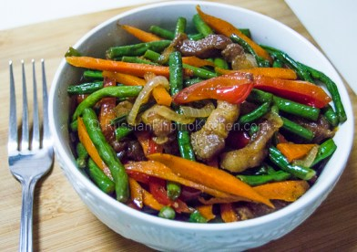 Ginisang Sitaw (Sauteed Long Beans With Pork) 13