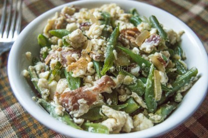 Sauteed Green Beans With Bacon & Egg Whites 09