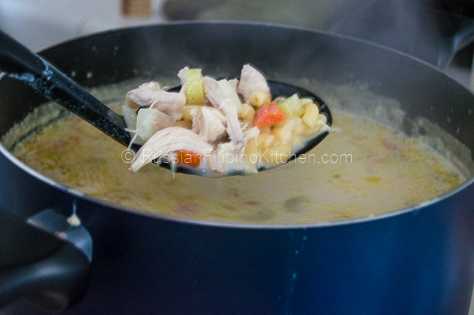 Chicken Sopas Filipino-Style (Creamy Chicken Macaroni Soup) 12