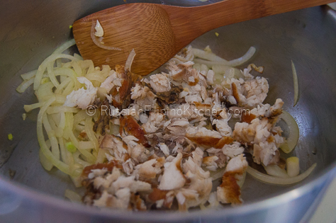 Sautéed Chayote and Squash With Shredded Fish (Ginisang Sayote at Kalabasa) 10