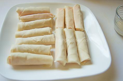 Cheddar Cheese Lumpia Rolls 12