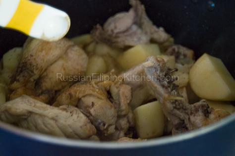 Pinatatasang Manok (Bone-in Chicken with Potatoes) 11