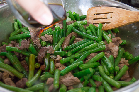 Sauteed Green Beans With Pork 12