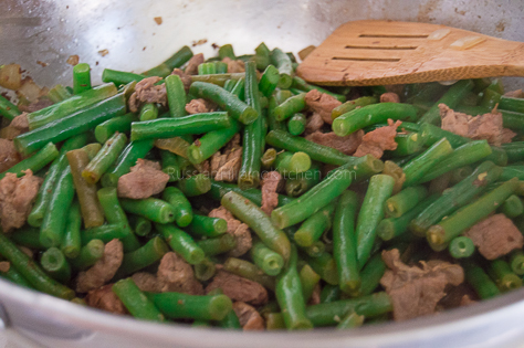 Sauteed Green Beans With Pork 15