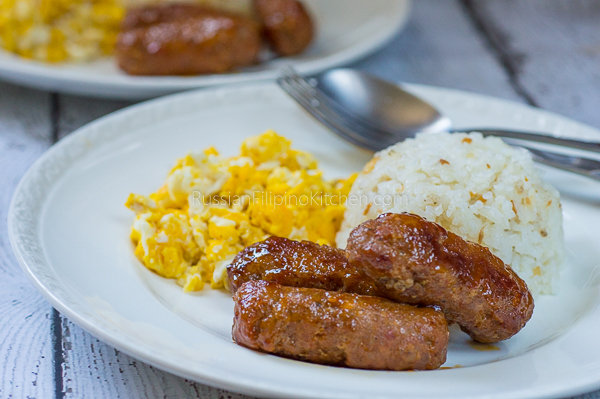 Filipino Skinless Longganisa
