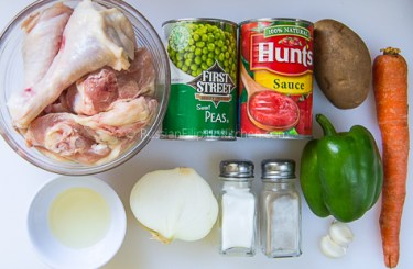 Filipino Chicken Caldereta 02