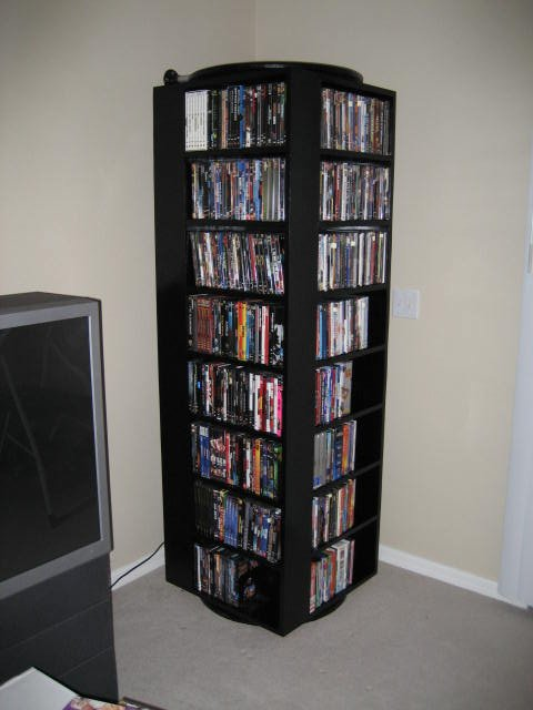 Rotating Dvd Stand
