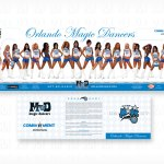 Orlando Magic Dancers Autograph Card