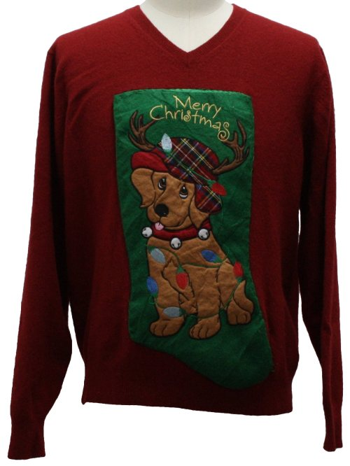 Medium Of Dog Christmas Sweater