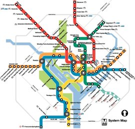 D.C. Metro Map