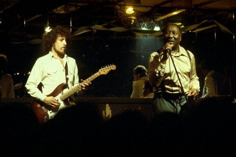 Bob Margolin and Muddy Waters, Mancini's Club, Pittsburgh, PA 1980
