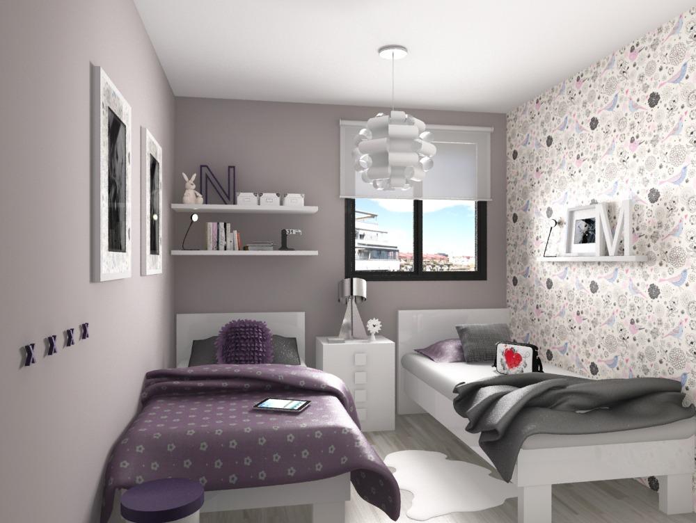 Habitaciones compartidas - Habitaciones infantiles con dos camas ...