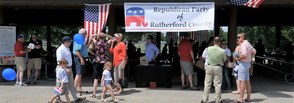 More than 200 poeple came to the annual GOP picnic in Murfreesboro July 10, 2016