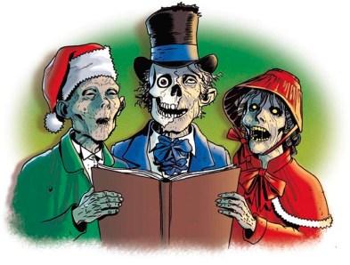 zombie xmas christmas funny list of dumb christmas shit