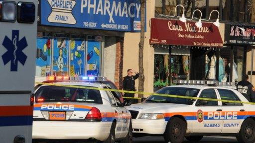 cops pharmacy drug story crime robery