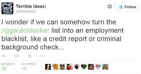 ggblocker is a program for blocking anyone sympathetic to GG.