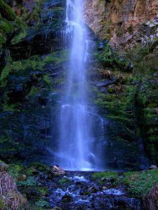 Cascada de El Gualtón. Toma Vertical