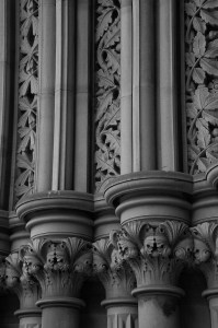 Manchester town Hall Porch
