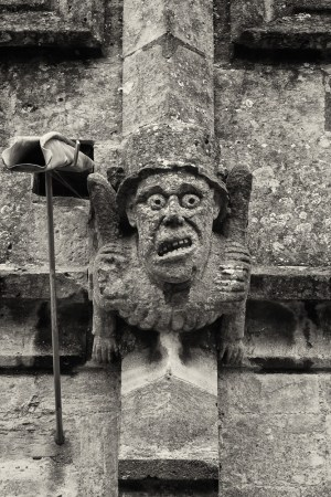 Grotesque, Winchcombe Church #1