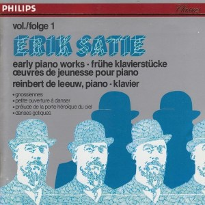 cover of Satie Early Piano Works