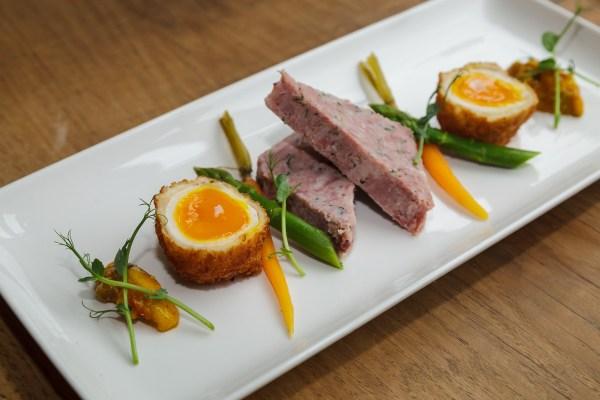 Scotch Egg & Ham Hock Terrine