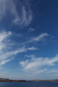 Blue Sky Over Uiginish Point