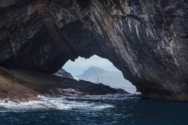 Boreray Through The Arch