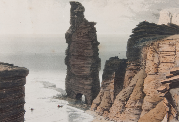 Old Man of Hoy by William Daniell, 1817