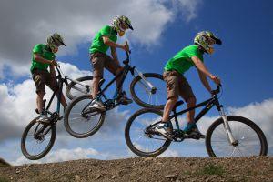 Mountain Bike Shoot (Photoshopped!)