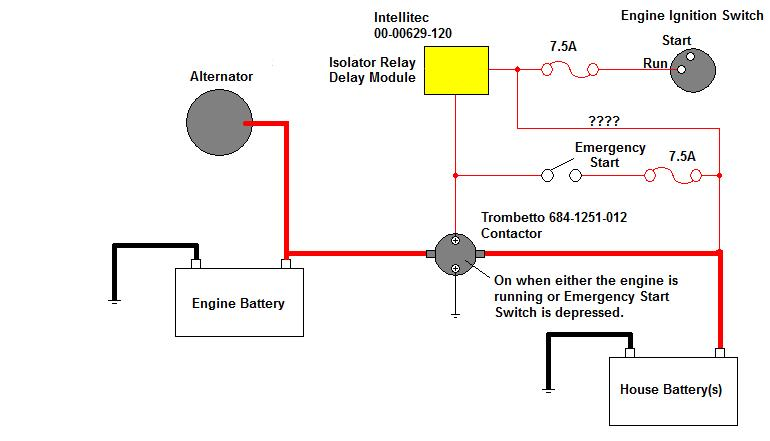Where is Battery Isolator Controller? - Thor Forums