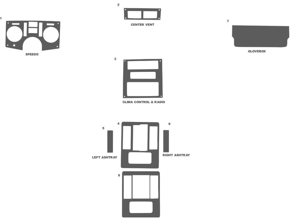 pontiac fiero dashboard