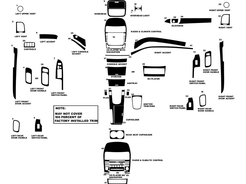 2004 acura tsx parts diagram