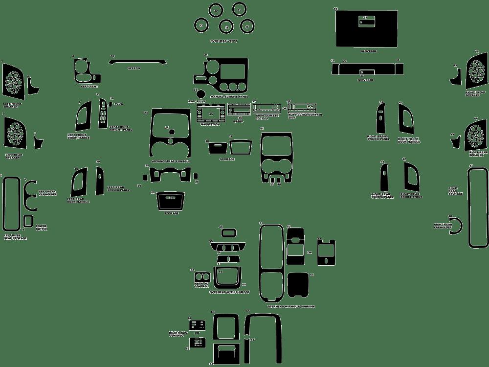 2005 mustang stereo install kit
