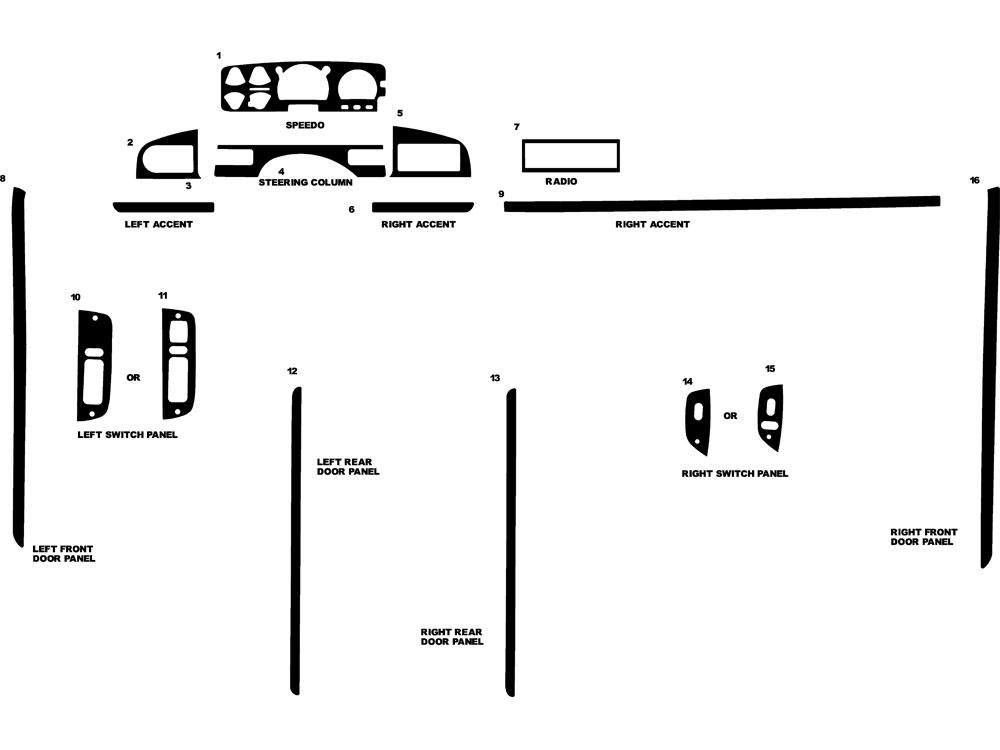 1996 ford f 350 dash schema cablage