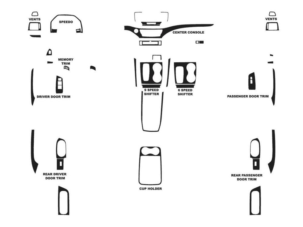 2007 kia sedona body diagram